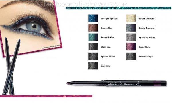 Карандаш для глаз диамант эйвон косметика avon mark модный макияж