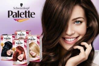 паллет палитра красок для волос