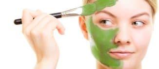 маска для очищения лица
