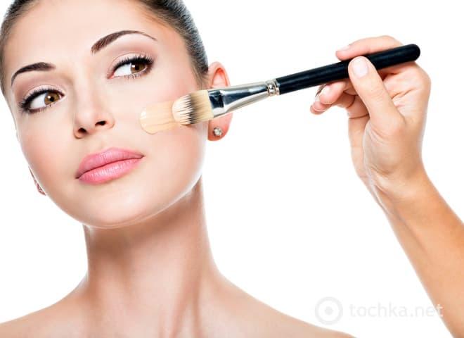 Как правильно подобрать и наносить тональный крем для лица