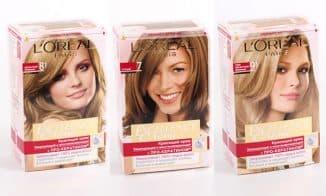 лореаль краска для волос палитра