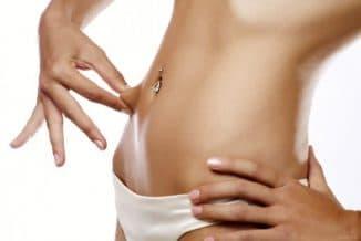 массаж для похудения живота и боков