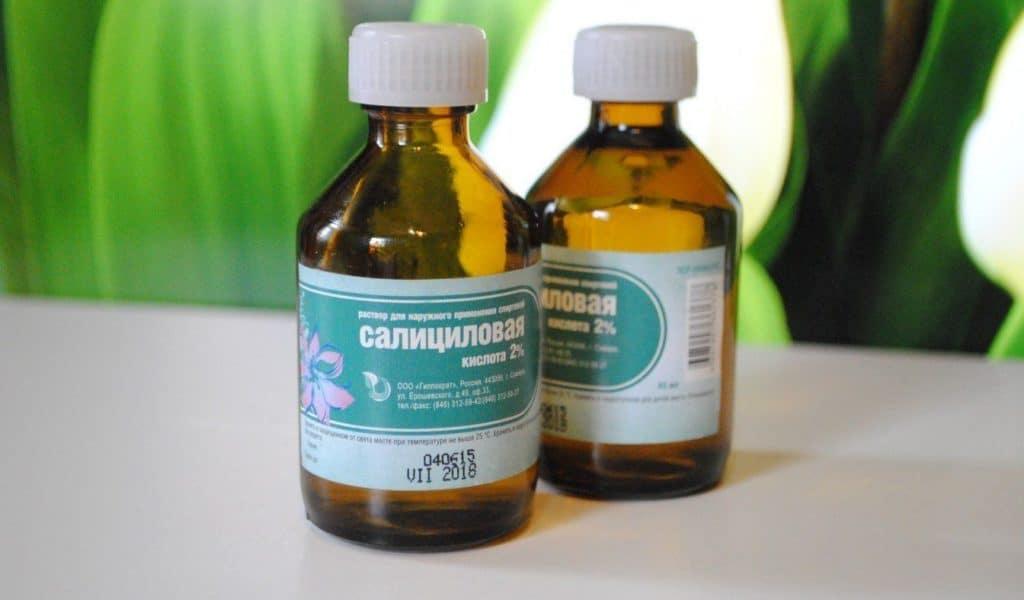 Крем с салициловой кислотой для лица