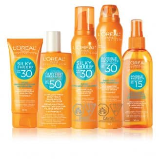 лореаль солнцезащитный крем для лица spf 50 для